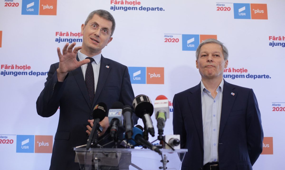 Barna și Cioloș au lansat oficial tandemul președinte-premier / Barna: Eu  voi ajunge în turul doi alături de Iohannis, obiectivul este să câștig /  Cioloș: Barna e un om nou. Sperăm să