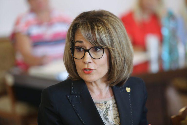 Foto: Senatoarea PNL Nicoleta Pauliuc. Sursa: Inquam Photos / George Călin