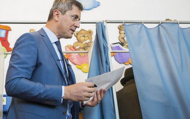 Dan Barna, vot, alegeri prezidentiale