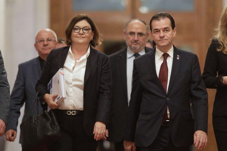 adina valean, ludovic orban, comisar european