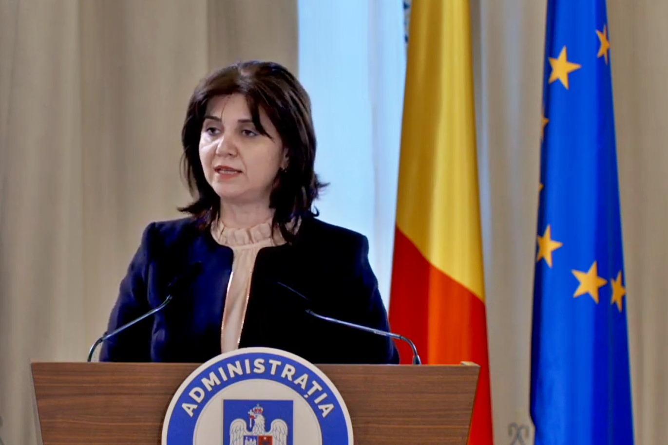 Monica Anisie: Simulările pentru examenele naționale se ...   Monica Anisie