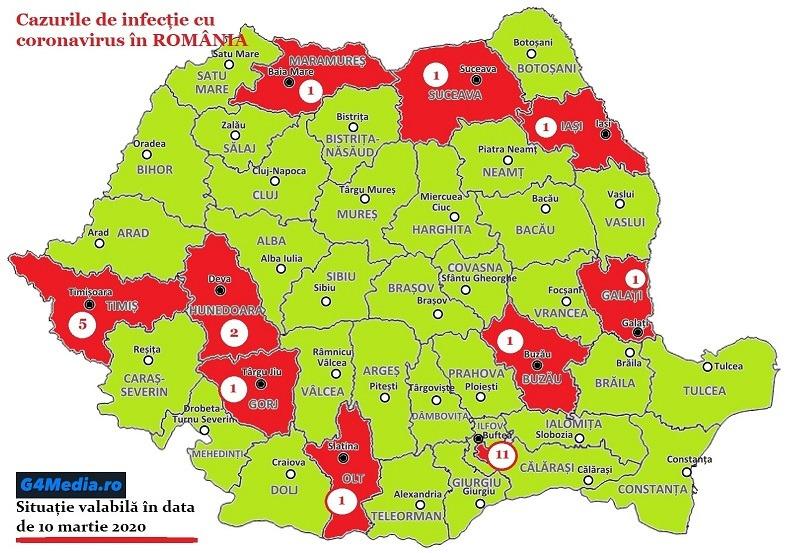 Se Inmulțesc Cazurile De Infecție In Romania Tot Ce Se știe Acum