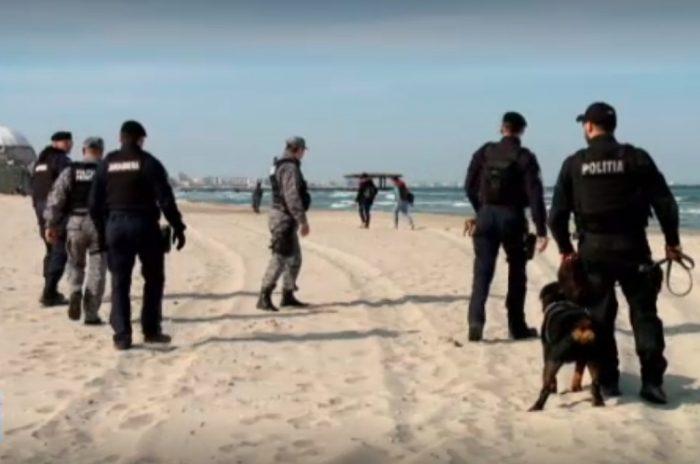 Un cetățean britanic se plimba pe plaja din Bulgaria și a ajuns ilegal pe teritoriul României. Omul le-a spus polițiștilor că n-a remarcat delimitarea graniței