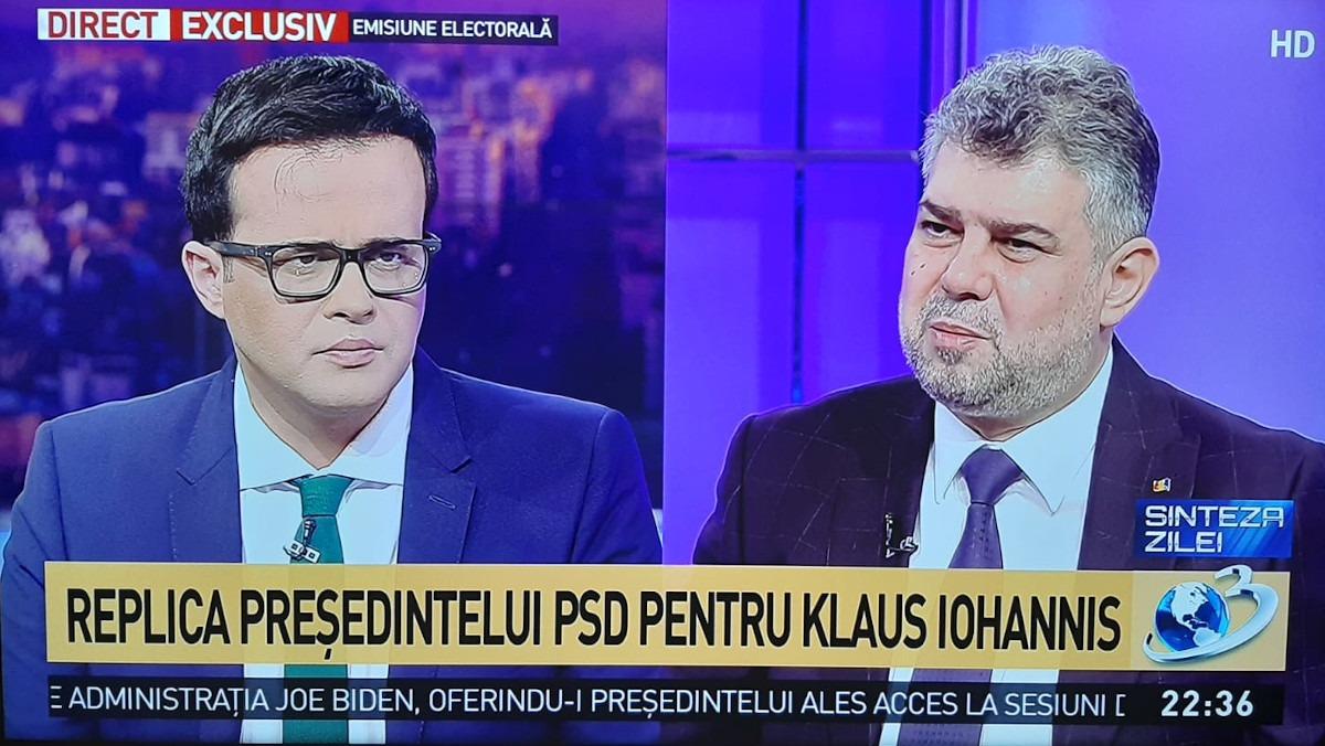 Marcel Ciolacu: Guvernul președintelui Iohannis e cel mai corupt după Revoluție/ Iohannis parcă are o obsesie să aibă întreaga putere. Se enervează la ziariști, la întrebările incomode, nu ai voie să pui decât o întrebare