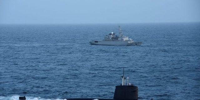 nava marea chinei submarin