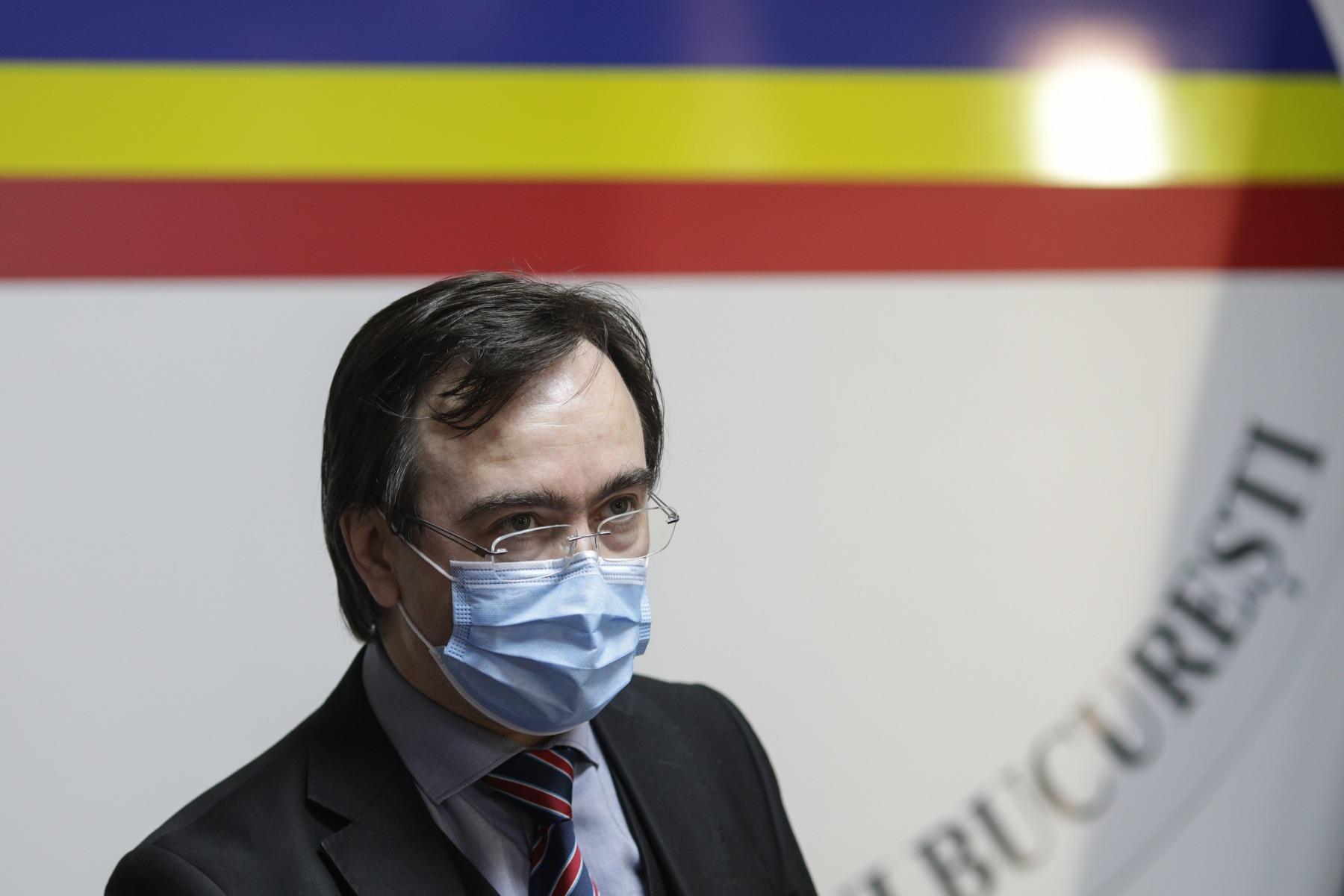 Prefectul Capitalei: Medicii sunt pregătiți pentru valul patru