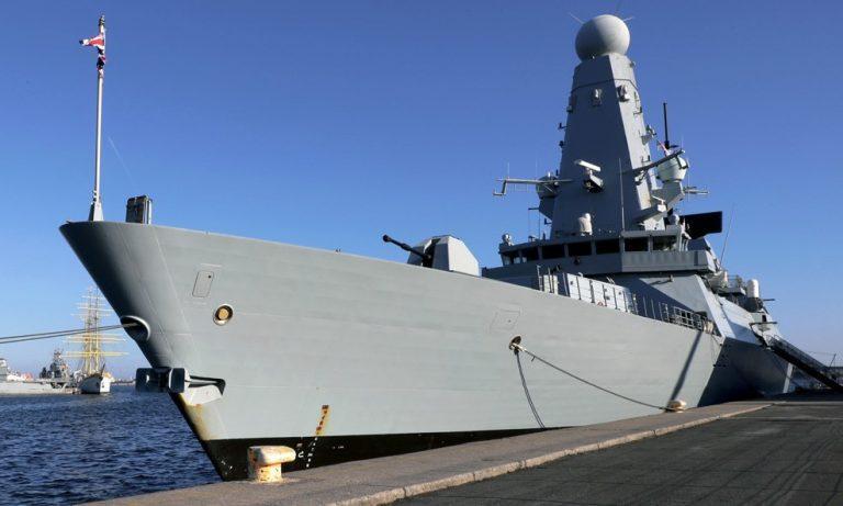 Nava HMS Daring