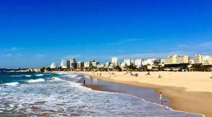 Plajă Algarve foto: Corneliu Popa