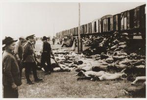 Cadavre de evrei din Trenul Morții