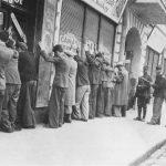 Evrei arestați pe strada IC Brătianu