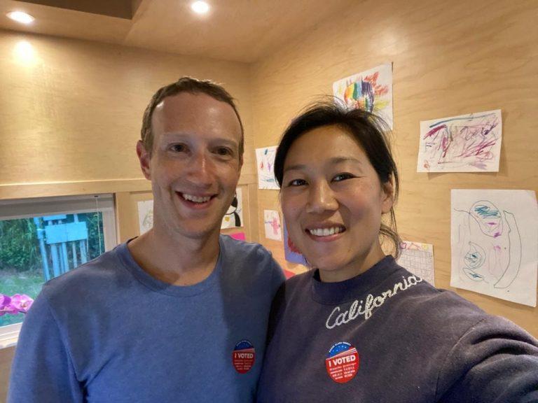 Mark Zuckerberg și Priscilla Chan