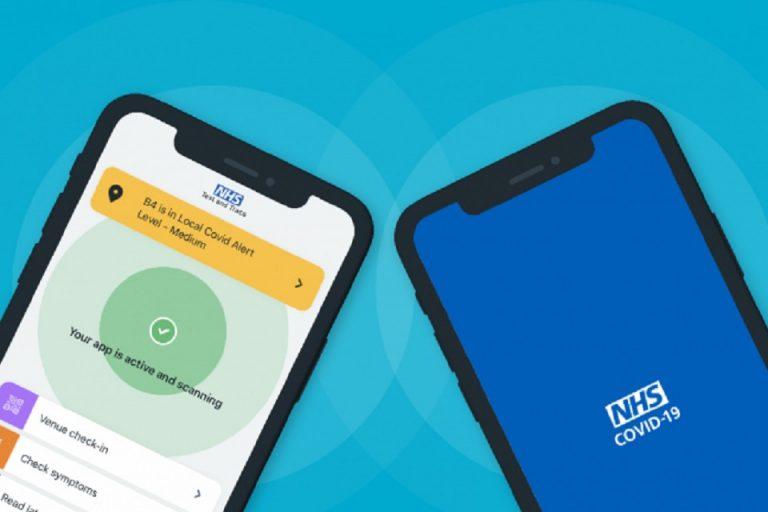 Aplicația NHS Covid 19