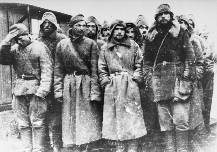 Prizonieri sovietici de război la Sachsenhausen
