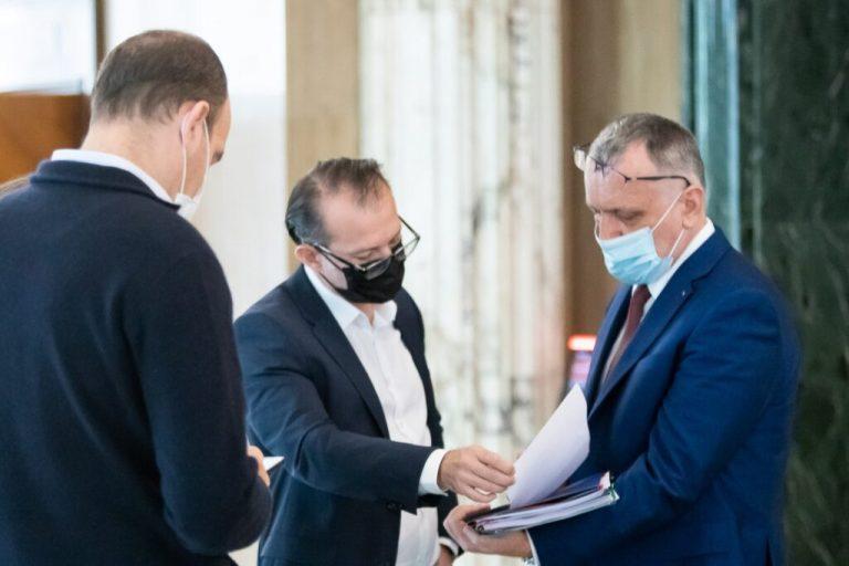 Florin Citu si Sorin Cimpeanu / Foto: gov.ro