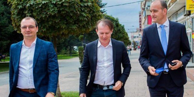 Iulian Popescu impreuna cu Florin Citu si Dan Vilceanu facebook