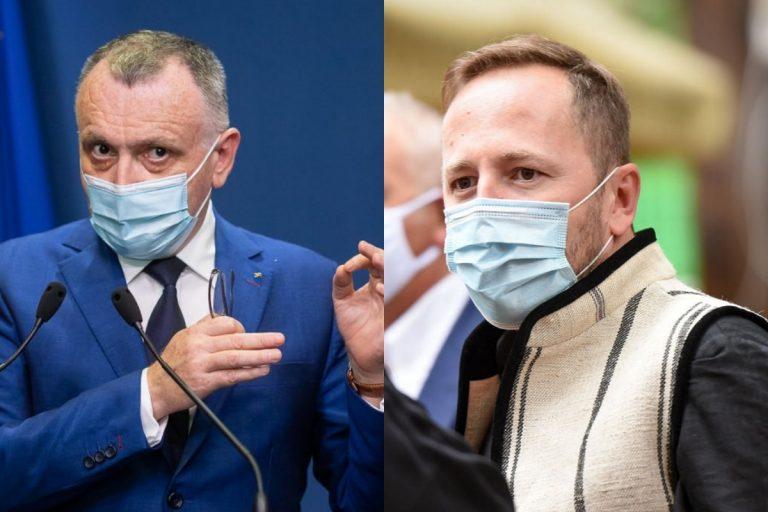 Sorin Cîmpeanu și Radu Szekely / Colaj foto: gov.ro, Doria Dragusin – Merito